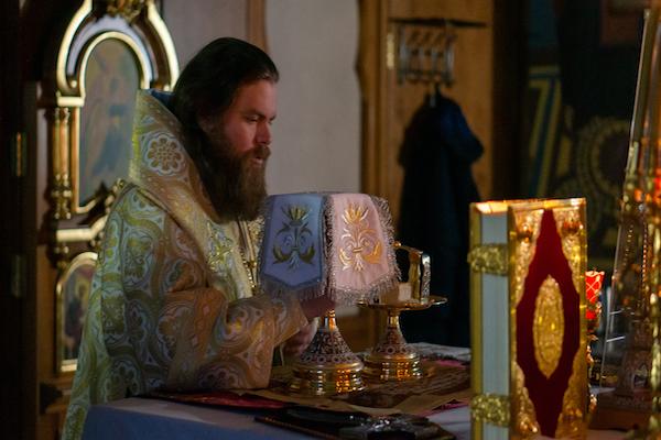 В праздник Обрезания Господня епископ Спиридон возглавил Литургию в Михаило-Архангельском храме Бирска