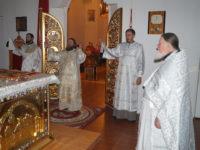 В праздник Богоявления епископ Спиридон возглавил ночную Литургию в кафедральном соборе Бирска
