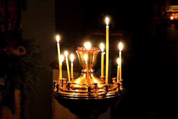 В Михаило-Архангельском храме села Байки состоялась Крещенская праздничная Литургия