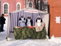 Сёстры милосердия города Бирска приняли участие в празднике Дня защитника Отечества