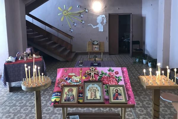 В селе Старобурново Бирского района совершена первая за долгое время Литургия