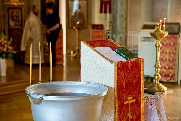 В великую субботу состоится Крещальная Литургия В Свято-Троицком кафедральном соборе
