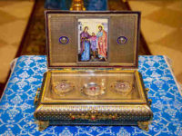 В Свято-Троицкий кафедральный собор города Бирска прибудет ковчег с частью пояса Пресвятой Богородицы