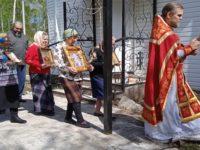 В Никольском храме села Старопетрово Бирского района совершена Пасхальная литургия