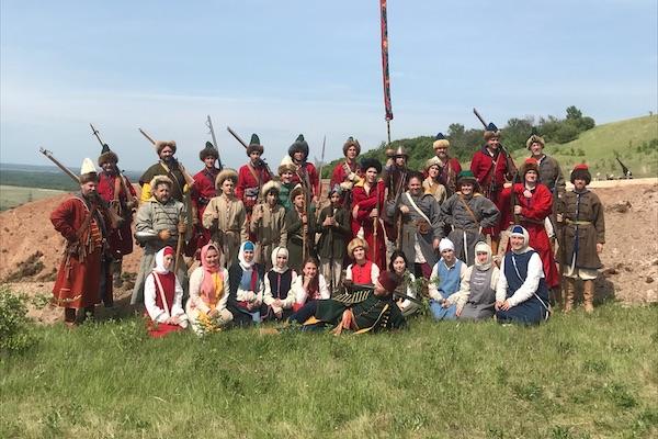 Православная молодежь и следопыты города Бирска посетили фестиваль исторической реконструкции «Река времени-2021»