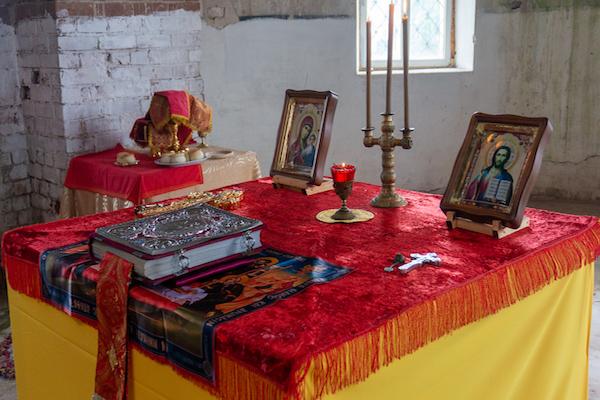 В день памяти благвоерного великого князя Димитрия Донского епископ Спиридон совершил Литургию в храме села Николаевка Бирского района