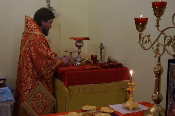 Епископ Спиридон совершил Литургию в храме Трех святителей села Силантьево Бирского района