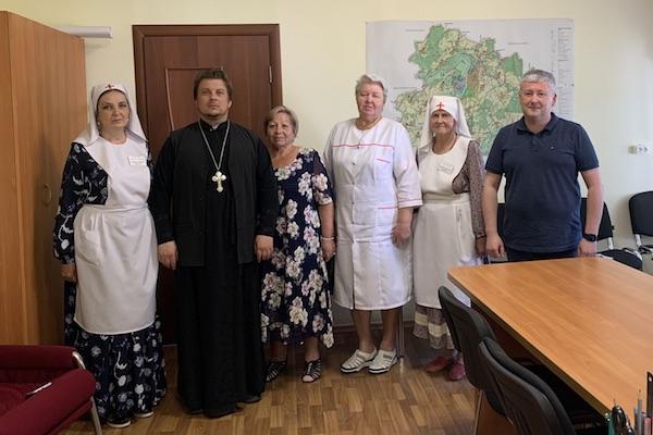 Руководитель ОЦБСС епархии и сестры милосердия встретились с главным врачом ЦРБ г. Бирска