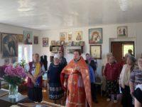 Состоялась Литургия в селе Калинники