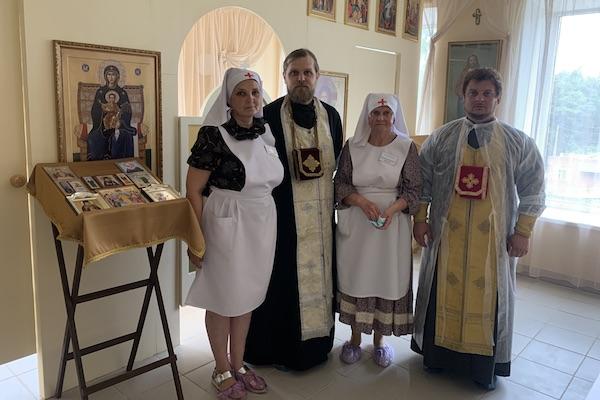 В больничном храме ЦРБ города Бирска возобновились совершения Таинств