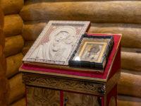 Епископ Спиридон освятил часовню в честь иконы Божией Матери «Табынская» в селе Новоянсаитово Караидельского района