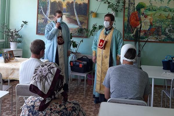 Таинство Причастия совершено в хирургическом отделении Бирской ЦРБ